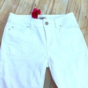 White House Black Market Jeans w/rhinestones